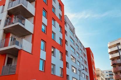 Provisionsfrei, HELMUT ZILK PARK - Erstbezug, Einbauküche, Helle 2 Zimmer mit Balkon, Nähe Hauptbahnhof.