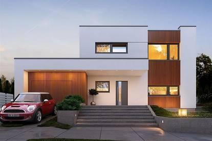 Stilvolles Doppelhaus auf Eigengrund in Stockerau