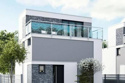 Silvolles Doppelhaus in Brunn am Gebirge inkl. Grundstück