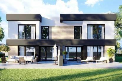 Modernes Doppelhaus in Brunn am Gebirge (Mitte) auf Eigengrund