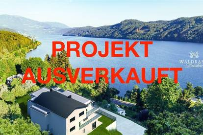 Neubauprojekt Waldrand-Residenz Millstätter-See! Seeblick und privater Seezugang