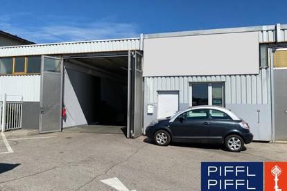 150 m2 Lagerhalle mit Büro in der Nähe der Plus City
