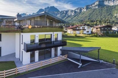 Hochwertige Neubau-Wohnung in sonniger Ruhelage am Ortsrand von St.Johann in Tirol