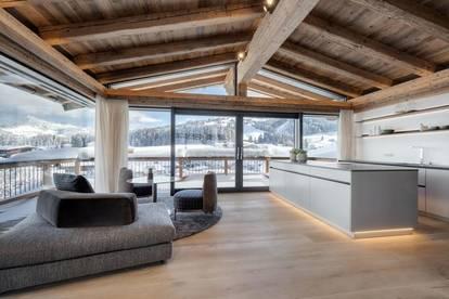 Ski in/Ski out Lage von Luxus-Haus-Anlage in Kirchberg in Tirol