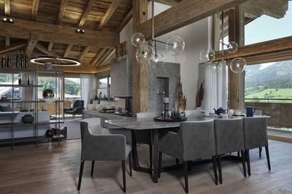 Eingerichtetes Luxus-Penthouse in Ellmau in Tirol