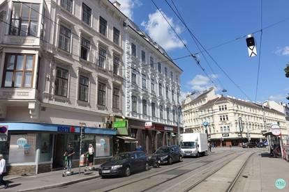 Taborstraße / 159 m² Geschäftslokal / Praxis / Büro / Verkaufsfläche / große Fensterfront / keine Gastronomie möglich