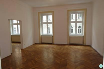 Augarten - Donaukanal - Nähe / FAMILIENWOHNUNG / 130 m² unbefristete Hauptmiete / Rembrandtstraße / 4 Zimmer / 1. Stock