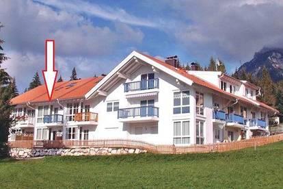 """""""Chalet Margit"""" in bester Lage mit traumhaften Blick auf das Wettersteingebirge inmitten der Zugspitz-Region."""