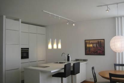 Komplett ausgestattete Wohnung