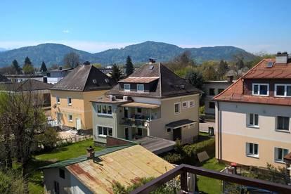 Renovierte, unmöblierte und WG geeignete 4-Zimmer Wohnung (84m2) in Klagenfurt, (Uni-Nähe),  ab sofort zu vermieten!