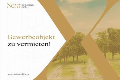 Ideales Gewerbeobjekt (Widmung Betriebsbaugebiet) nahe Voralpenkreuz zu vermieten!