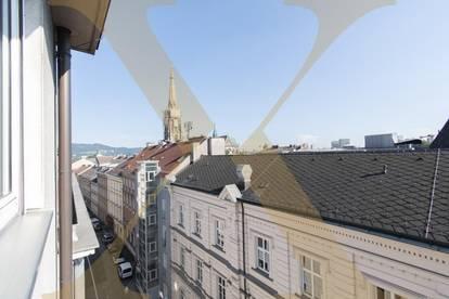 Neu sanierte 4-Zimmer-Wohnung mit 2 Balkonen und Einzelgarage in Linzer Zentrumslage zu vermieten!