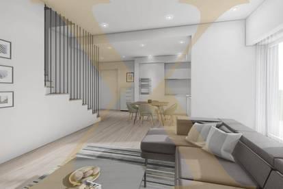 NEUBAU! Hochwertige 2-Zimmer-Wohnung mit 12,5m² großer Loggia in zentraler Lage zu verkaufen (Top 8)