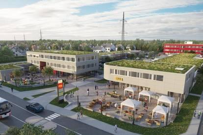 Attraktive Geschäfts-/ Handelsflächen von 28m² bis 1.400m² im Stadtteilzentrum St. Dionysen Traun (STZ Traun)