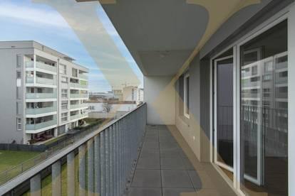 Toll gelegene 2-Zimmer-Wohnung mit voll ausgestatteter Küche und Loggia zu vermieten