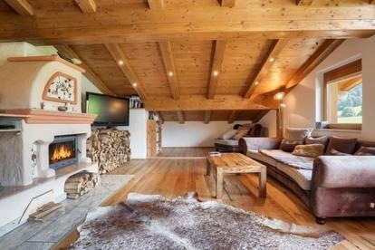 Dachgeschosswohnung in Pistennähe mit Kaiserblick