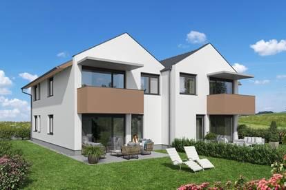 Dorflinde - Hochwertige Neubau Eigentumswohnung *provisionsfrei* am Ortsrand von St. Pantaleon