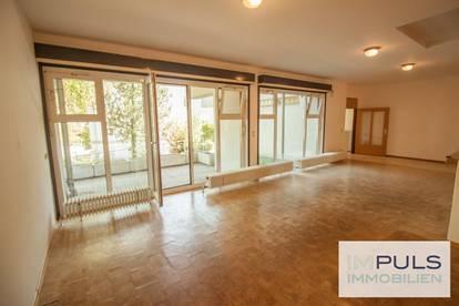 € 2.000,-/m2 | Büro - Kanzlei - Praxis - Ordination - Salon - Studio - Atelier | Schön geschnittenes & gut gelegenes Gewerbeobjekt mit Terrasse