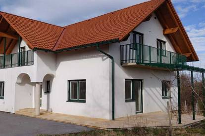 Ruhig gelegene Wohneinheit mit Blick zur Riegersburg am Weingarten