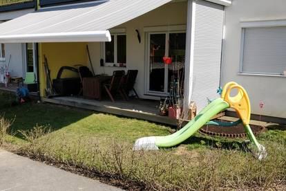 Sonnige Wohnung mit Garten in ruhiger Lage