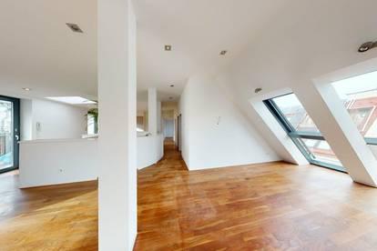 Sonnige DG-Wohnung zwischen Augarten und Wiener Prater.