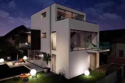 Exklusive Neubau-Villa im eleganten Wohnbezirk Hietzing mit großzügigen Freiflächen und Pool