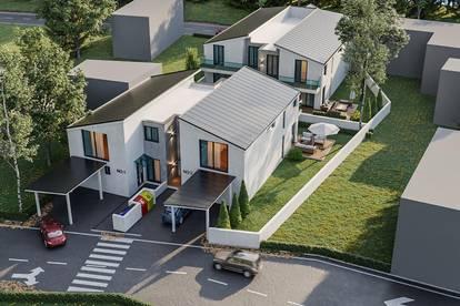 Parndorf-Living, belagsfertige Doppelhaushälfte