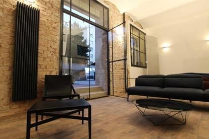 the SMART INDUSTRIAL LOFT - 45 m² großer Wohntraum auf 2 Ebenen mit Galerie