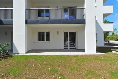 Ideale Singlewohnung mit Gartenanteil und Tiefgaragenplatz!!