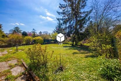 Mit Youtube Video ~ Eigengrund in Gartensiedlungsgebiet ~ absolute Ruhelage ~ 5 Minuten von Kagran entfernt!