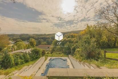 Grundstück in Kierling mit 3 stöckigem EFH ~ Inklusive Sauna und Pool