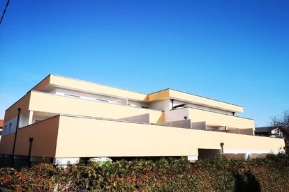 Erstbezugswohnung (44,44 m²) mit 29 m² Südbalkon + Carport