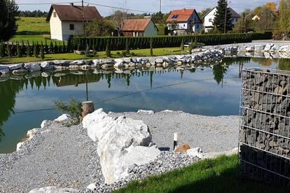 PROVISIONSFREI Luxus Penthouse mit Privatem Zugang zum Teich.