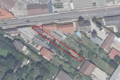 Baugrund mit Altbestand in Zentrumszone