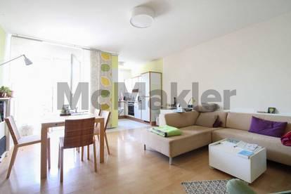 Zentrumsnahe 3-Zi.-Wohnung mit Kamin und Balkon in Mödling bei Wien
