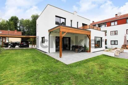 Modernes Wohnen in naturnaher Lage: Exklusives 5-Zi.-EFH mit großzügigem Garten in Aspang Markt