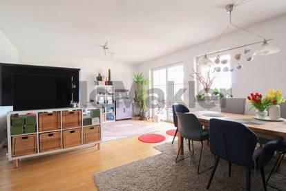 Hoher Wohnkomfort in idyllischer Feldrandlage: Tolle Terrassenwohnung mit Gartenanteil nahe Leibnitz