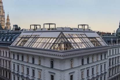 Am Rathaus - Außergewöhnliche Dachgeschosswohnung mit atemberaubendem Fernblick