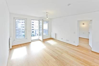 Neu umgebaute Wohnung mit Loggia im 2. Wiener Gemeindebezirk