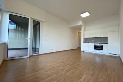 Exklusive 2-Zimmer Wohnung mit 2 Garagen-Stellplätzen im Herzen von Kems - Provisionsfreier Erstbezug