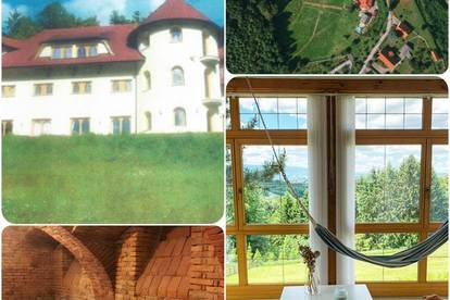 ++ EINZIGARTIG ++ Schlossähnliche Villa ++ Panoramablick zur Koralpe ++ Traumlage ++
