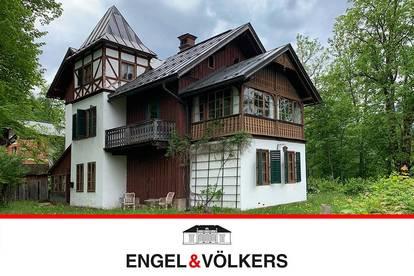 Wundervolle See-Villa in Altaussee