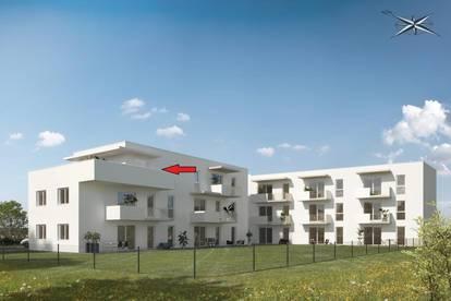 Neubauprojekt in Straßgang!!! Penthouse mit 47m² Terrasse!!! Provisionsfrei!!!