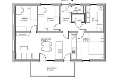 Neubauprojekt in Straßgang!!! 4-Zimmer Wohnung mit 12m² Balkon!!! Provisionsfrei!!!