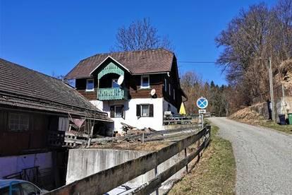 Liegenschaft mit KLEINWASSERKRAFTWERK und sanierungsbedürftige Häuser für Heimwerker