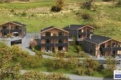 NEUBAU - Gartenwohnung mit Reihenhauscharakter in Saalbach - ca. 99 m²