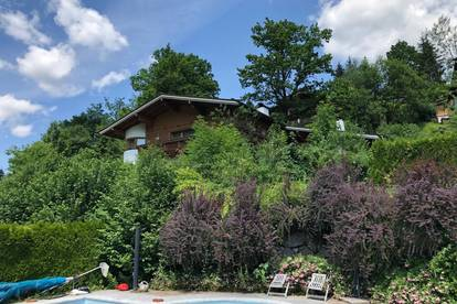 KITZBÜHEL: Einfamilienhaus mit großem Sonnen-Grundstück
