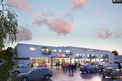 Provisionsfreie Neubauwohnungen mit Balkon/Terrasse und einem Jahresabo im Fitnessstudio Burn It, im Ortskern von Münchendorf!