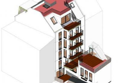 1170: 2-Zimmer Balkonwohnung in Niedrigenergiehaus Nähe Lorenz-Bayer-Park