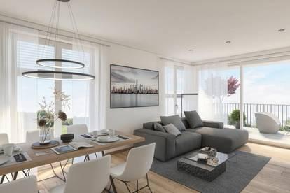 SONNENANBETER 3-Zimmer-Wohnung - Projekt VORCHDORF LIVING 4